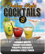 Friday Night-cocktails